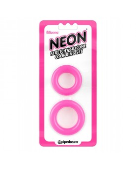 Neon Stretchy Silicone Cock Ring